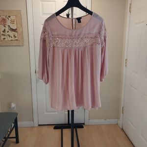 Torrid Pink Laced- Size 1x